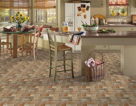 tile ideas for kitchen floor kitchen floor tile designs by armstrong lancelot cinnabar