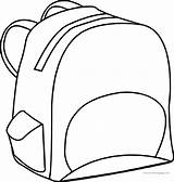 Bag Coloring Sheets sketch template