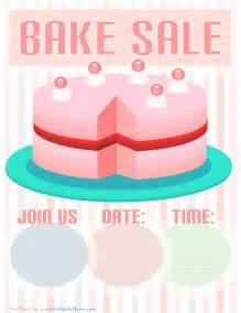 Printables Free Bake-Sale-Flyer