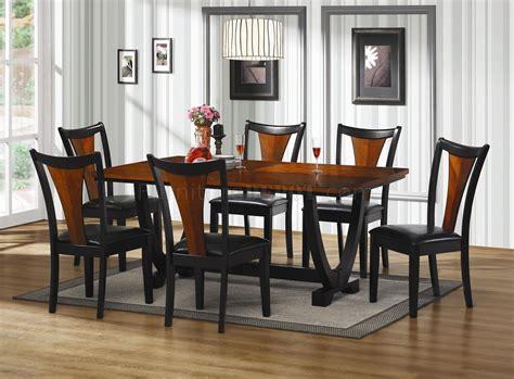 boyer dining table  coaster  cherry black