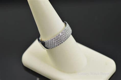 tiffany  metro   row diamond wedding band