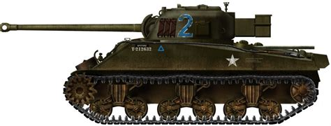 Rare Photo Of Tank Named In The Mood Belonging To 3rd Armored