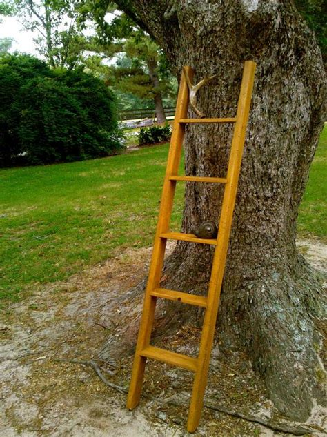 rustic ladder by liveoakfurnitureco on etsy