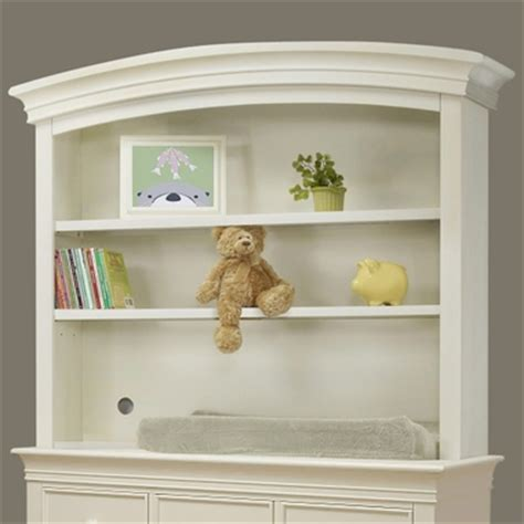 Sorelle Verona Dresser And Hutch by Sorelle Verona Dresser Hutch In White Free