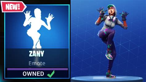 *new* Zany Emote/dance Available Now! (all Characters Do