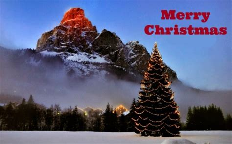 merry christmas mountains nature background wallpapers desktop nexus image 1642160