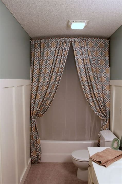 bathroom shower curtains ideas ideas of stand up shower curtains useful reviews of