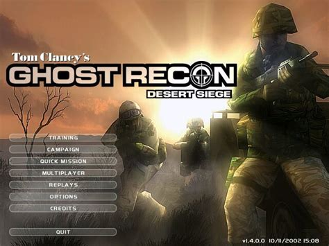 ghost recon desert siege tom clancy 39 s ghost recon desert siege screenshots for