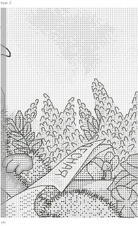 hedgehog  pattern cross stitch diy  ideas
