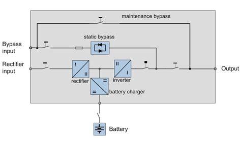 schematic 3 phase ups circuit diagram symbols