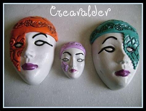 Masque De Platre Decorer En Fimo