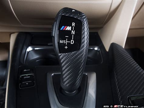 bmw shift knob ecs news bmw f32 4 series carbon fiber shift knobs