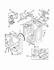 Maytag Med5500fw0 Dryer Parts