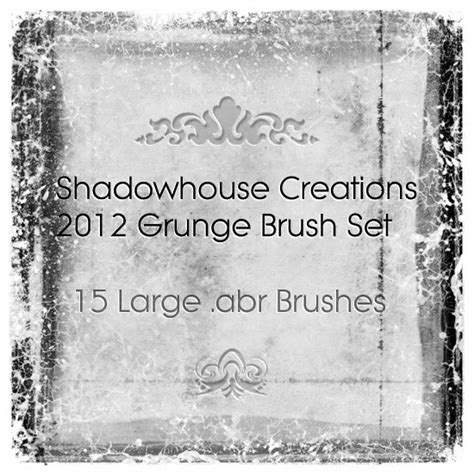 Shadowhouse Creations: Shadowhouse Creations 2012 Grunge