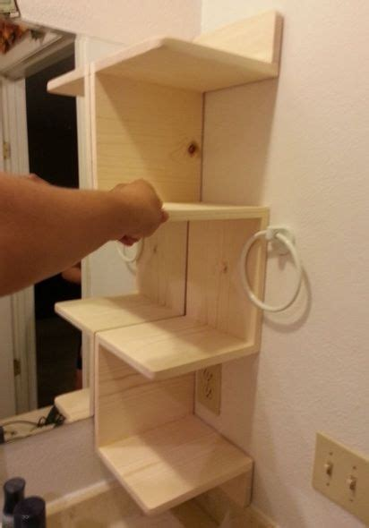 Zigzag Bookcase by Building Corner Shelf Woodworking Projects Amp Plans