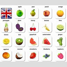 Fruit  English Vocabulary For Beginners (ovocie Po Anglicky)  Learning English Pinterest