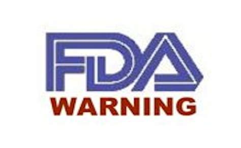 fda warning letters several food companies receive warning letters after fda