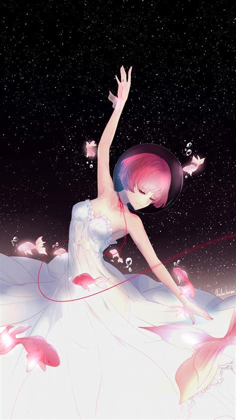 wallpaper anime girl ballet dancer fishes hd anime