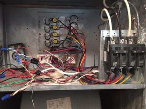 goodman heat pump ac blower fan no power problems doityourself com community