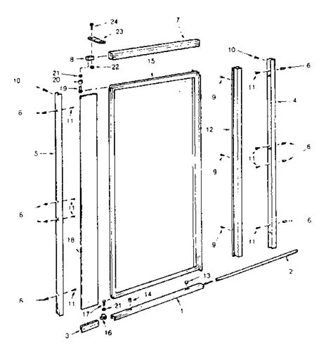 pivot shower door parts shower door parts pivot block with 3 4 pin for framed