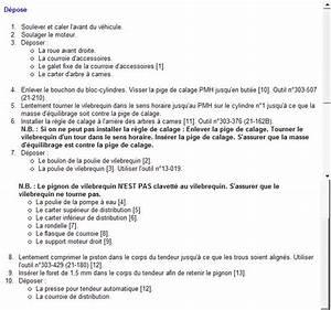 Distribution Ford Fiesta : recherche calage distribution fiesta 16v de 97 r paration m canique aide panne auto ~ Gottalentnigeria.com Avis de Voitures
