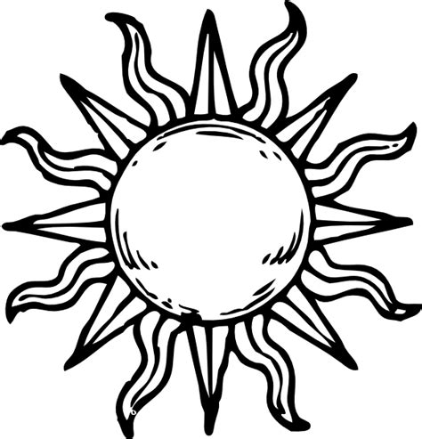 drawings of sun clipart library