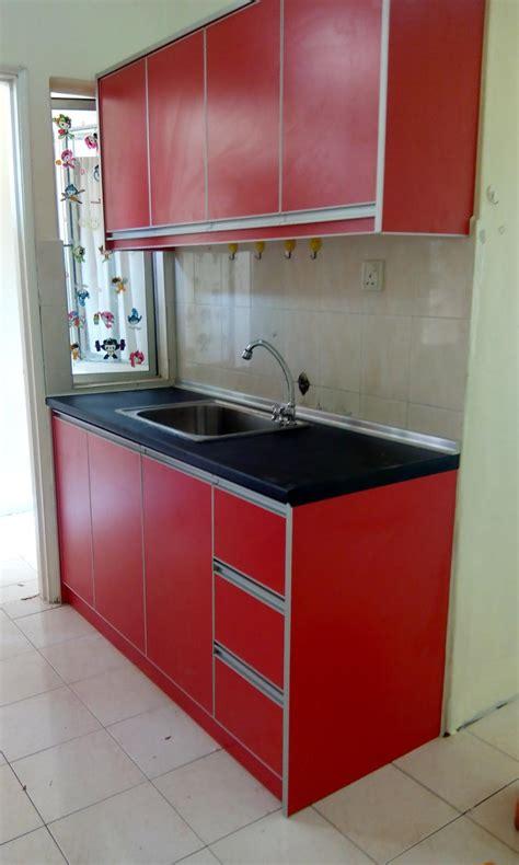 kabinet dapur terus dari kilang 2015