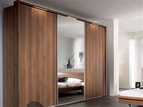 15 ideas of wood wardrobes with mirror