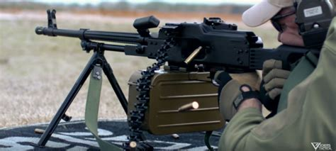 Lav Tackles A Bulgarian Mg1m (pkm) Machine Gun