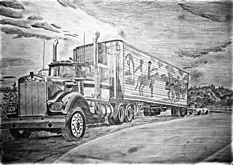Kenworth W900 ''smokey And The Bandit'' By Zeevar On
