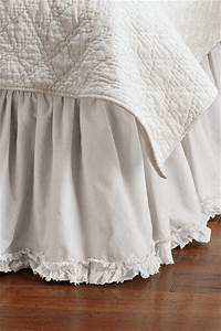 Ruffle Bedskirt - Bedskirts - st louis - by Soft Surroundings