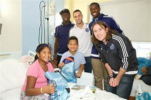 Several #nycfc players visited @nyphospital last week to ...