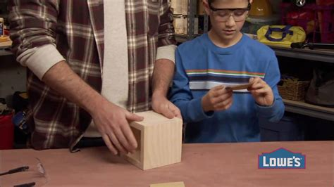 woodworking projects  kids   build  box youtube