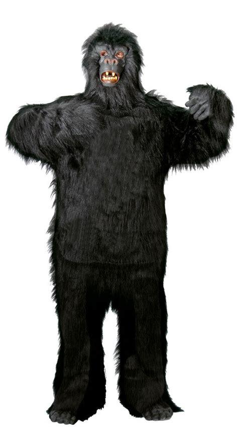 gorilla kostüm kinder deluxe gorilla kost 252 m f 252 r erwachsene gr m xxxl kost 252 m