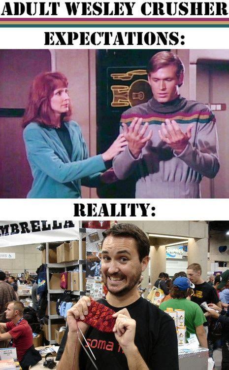 Shut Up Wesley Meme - 46 best images about star trek memes on pinterest best brad pitt star trek humor and obelisks