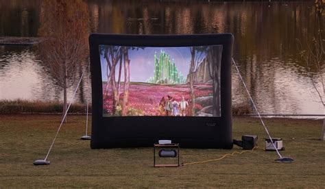 outdoor   set    backyard theater systems