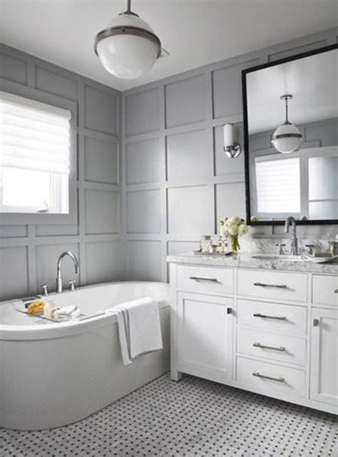 Bathroom Ideas Grey And White by 28 Grey And White Bathroom Tile Ideas And Pictures