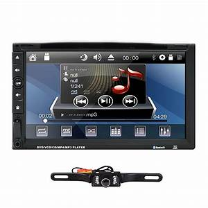 7 U0026quot Double Din Indeck Car Stereo Dvd Player Bt Ipod