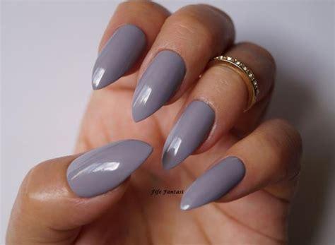Grey Stiletto Nails Nail Art Nail Designs Nails Stiletto