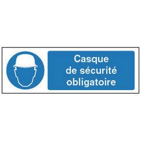 bureau de contr e obligatoire panneau d 39 obligation port d 39 un casque de sécurité