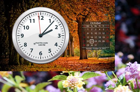 Clock Wallpaper For Windows 10