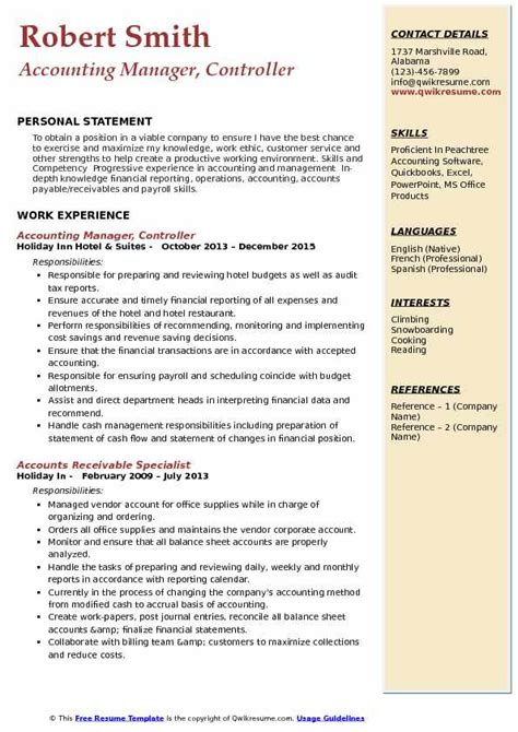 Resume For Accounting Manager by Accounting Manager Resume Sles Bijeefopijburg Nl