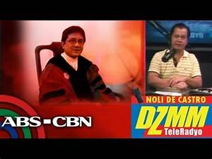 Fr. Ranhilio Aquino has theory about unsigned list - YouTube