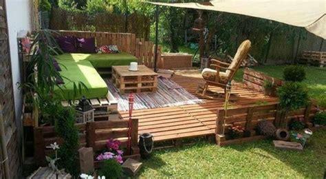 muebles jardin baratos palets hoy lowcost