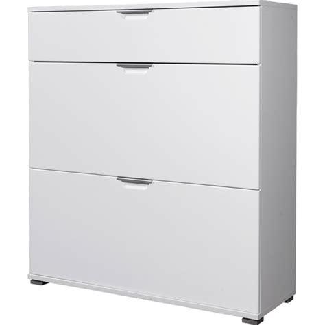 white shoe storage cabinet trento white high gloss shoe storage cabinet 3010 84 11769