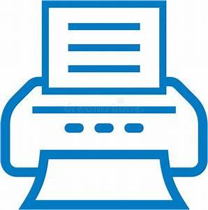 Vector printer icon stock vector. Illustration of button ...