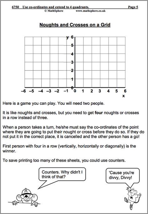 Y6 Homework Sheets