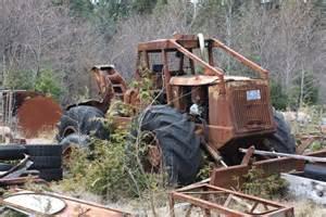 Old Logging Skidders