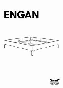 Ikea Engan Bed Frame Queen Furniture Download User Guide