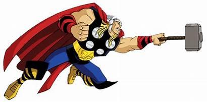 Thor Clipart Avengers Assemble Clip Cartoon Hammer